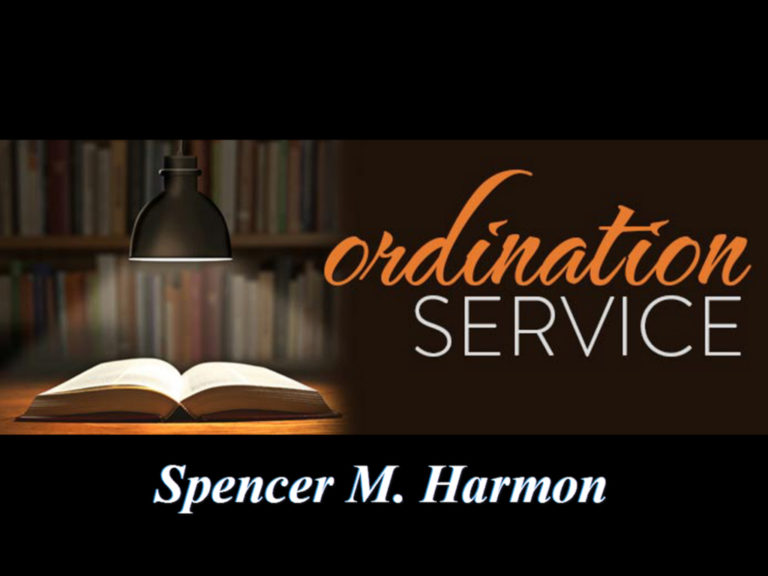 September 25, 2016 Ordination Service for Spencer Harmon