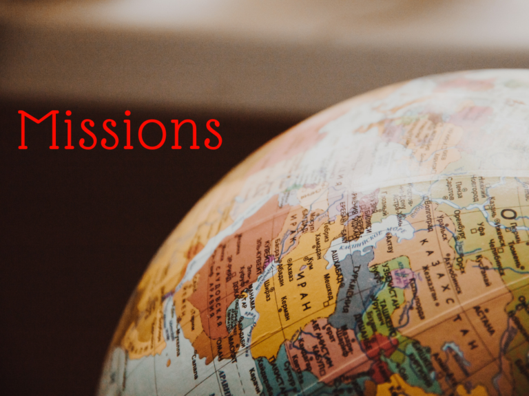Sermon Series on Missions